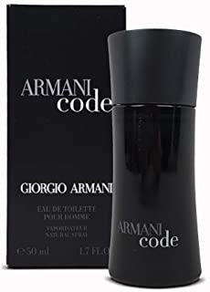 Giorgio Armani Code Eau de Toilette, Uomo, 50 ml