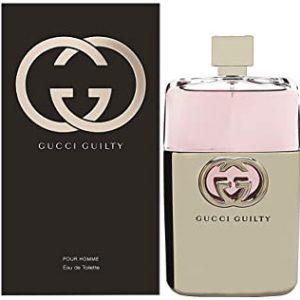 Gucci Guilty pour Homme Man, Eau de Toilette Spray, 150 ml