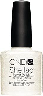 CND Shellac CNDS0104 Silver VIP Status Smalto per Unghie