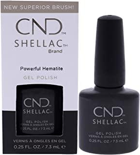 Cnd Shellac Crystal Alchemy Powerful Hematite - 7 Ml