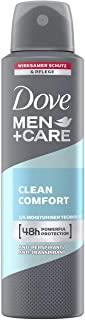 Dove, Men+Care, Deodorante spray Clean Comfort, 150 ml