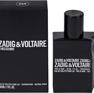 ZADIG&VOLTAIRE This Is Him! Eau de Toilette Vapo, 30 ml