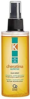 K-Cheratina - Nutritive Repair Olio Spray con Cheratina Idrolizzata - Ricostruzione per Capelli Secchi e Rovinati - Formula Arri