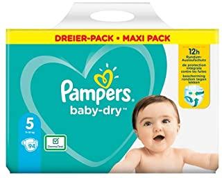 Pampers Baby-Dry Size 5 A 12 Ore Di Protezione, Per 11-16Kg - 2750 Gr