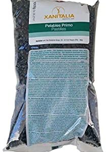 Ceretta Brasiliana, Cera Brasiliana Liposolubile Gocce Xanitalia, Depilazione senza Strisce, Pearl Wax, 1 Kg (Black)