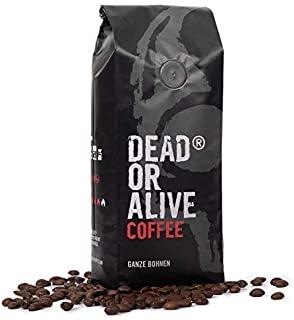 DEAD OR ALIVE COFFEE - Deadly Strong 500g | caffe extra forte dal gusto deciso | chicchi perfetti per caffe ed americano | chicc