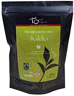 Te verde biologico Matcha in polvere 100g -by TOUCH ORGANIC