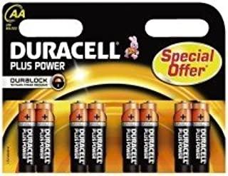 Duracell Plus Power Promotion Pack - Confezione da 8 batterie AA