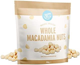 Marchio Amazon - Happy Belly Noci di macadamia intere, 500g