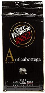 Caffe Vergnano 1882 Caffe Macinato Anticabottega - 12 confezioni da 250 gr (totale 3 Kg)