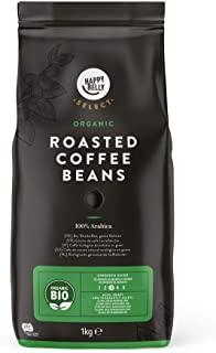 Marchio Amazon - Happy Belly Select Caffe biologico torrefatto in grani - 2x1kg