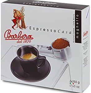 Caffe Barbera dal 1870 - Caffe Macinato - Miscela Espresso Casa - 500 Gr