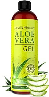 Gel organico di aloe vera con aloe pura al 100% di aloe appena tagliata - SENZA ACRILATI E POLIMERI RETICOLATI, per cui si assor