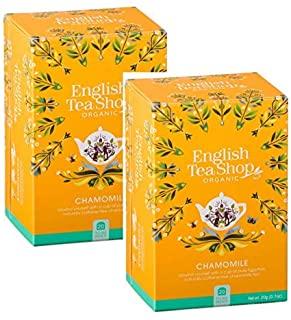 English Tea Shop Chamomile Naturally Caffeine Free Organic-Camomilla Biologica Naturalmente Senza Caffeina Collezione Premiata T