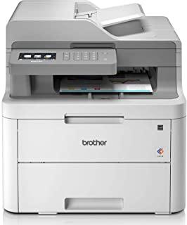 Brother DCP-L3550CDW Stampante Multifunzione, 2400 x 600 DPI, LED A4 18 ppm, Wi-Fi, Grigio [Importato dalla Germania]