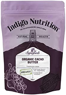 Indigo Herbs Burro di Cacao Biologico 250g