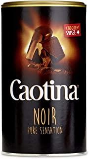 Caotina noir, cacao in polvere con cioccolato fondente svizzero, cioccolata calda, cioccolata da bere, 1 confezione, 1 x 500g