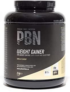 PBN Weight Gainer Vaniglia 3kg Jar