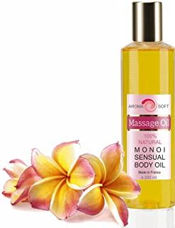 Massaggio Rilassante con olio di Vinaccioli e Monoi 200 ml IDRATANTE LEVIGANTE ANTIOSSIDANTE (monoi)
