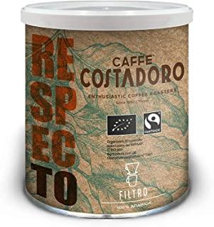 Caffe Costadoro Caffe Arabica RespecTo per Filtro - Lattina da 250g