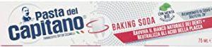 Pasta del Capitano Dentifricio Sbiancante Baking Soda, 75ml
