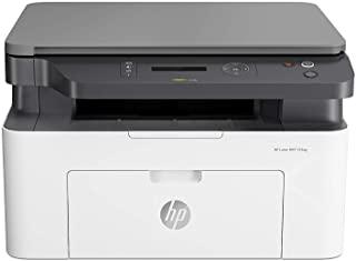 HP LaserJet 135a 4ZB82A, Stampante Laser Bianco e Nero Multifunzione, Stampa, Copia, Scansione, Fotocopiatrice, Formato A4, No W