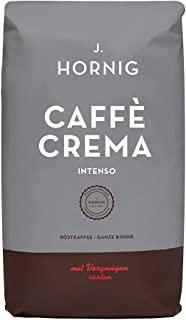 J. Hornig Caffe in Grani, Espresso, Caffe Crema Intenso, 1 kg, arabica e robusta, torrefatto e confezionato in Austria