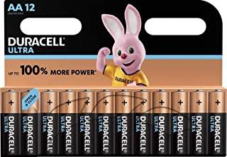Duracell Ultra AA AA Mignon Batterie alcaline LR6, confezione da 12