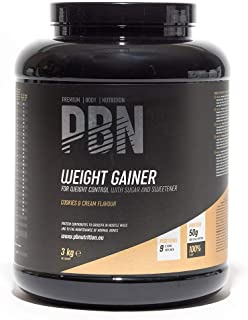 PBN Weight Gainer Biscotti 3kg Jar
