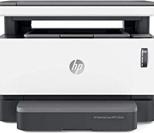 HP Neverstop 1202nw 5HG93A, Stampante Laser A4 Multifunzione con Serbatoio Toner a Ricarica Rapida, Stampa, Copia, Scansione, Wi