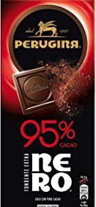 Perugina Nero Tavoletta di Cioccolato Fondente con 95% di Cacao ,85 g