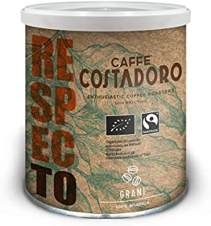 Caffe Costadoro Arabica RespecTo in Grani - Lattina da 250g