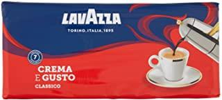 Lavazza Caffe Macinato Crema e Gusto - 4 confezioni da 250 grammi [1 Kg]