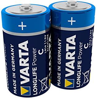 Pile Varta High-Energy 1-2 Torcia 2 Pile, Multicolore