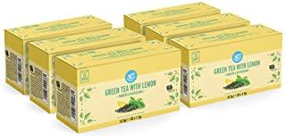 Marchio Amazon - Happy Belly Bustine di te verde con limone (150 bustine)