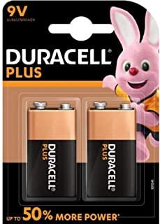 Duracell Plus Power Batterie Alcaline, Stilo 9V, Confezione da 2