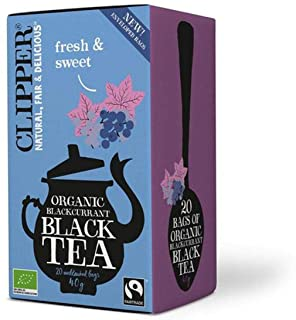 Clipper Organic Blackcurrant Black Tea 20 bags