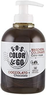 S.O.S COLOR & GO Maschera Colorante Riflesssante e ravvivante Cioccolato 300 ml