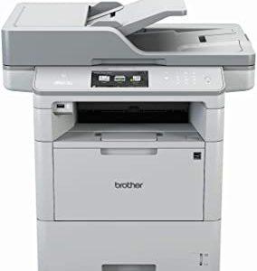 Brother Stampante Monocromatica MFC-L6800DW, A4, 4 in 1, Scanner, Fotocopiatrice, Fax, 1200 x 1200 dpi, AirBag per 750.000 Pagin