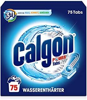 Calgon Powerball 2 in 1 Tabs - Addolcitore contro calcare e sporcizia nella lavatrice