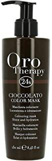 Fanola Oro Therapy Color Mask Cioccolato Maschera Capelli - 250 Ml, Marrone