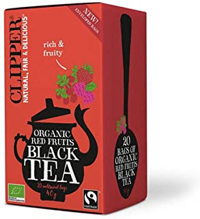 Clipper Organic Red Fruits Black Tea 20 bags