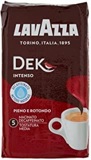 Lavazza Caffe Macinato Decaffeinato, Dek Intenso, 250g