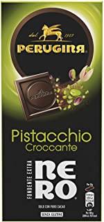 Perugina Tavoletta di Cioccolato Nero Extra Fondente con Pistacchio, 85g