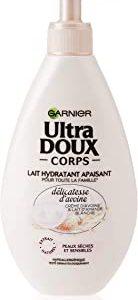 Garnier Ultradolce - Latte corpo lenitivo idratante &ldquo,Delicatezza d'avena&rdquo, per pelli secche e sensibili, 250 ml