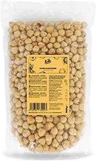 KoRo - Nocciole sgusciate e pelate 1 kg - nocciole intere, 100% naturali, non salate, senza glutine, bianche, perfette per dolci