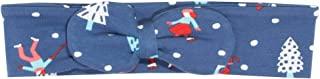 Kite - Fascia con fiocco per capelli, per bambine, motivo con pattinatori sul ghiaccio, biologica, taglia 0-11 anni