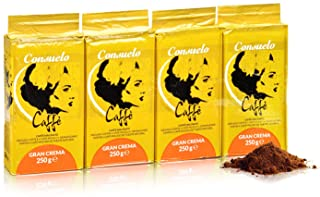 Consuelo Gran Crema - Caffe macinato - 4 x 250g