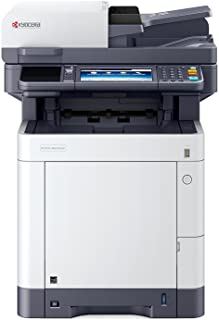 Kyocera Ecosys M6235cidn Stampante Laser a Colori Multifunzione, Stampa Bianco Nero, 35 Pagine al Minuto, Mobile Print