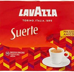 Lavazza Caffe Macinato Suerte, Pacco da 2 x 250g